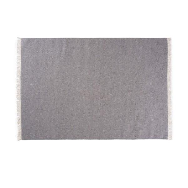 Vlněný koberec Rainbow Steel, 200x300 cm