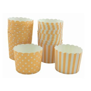 Sada 24 papírových košíčků na cupcaky Sweet