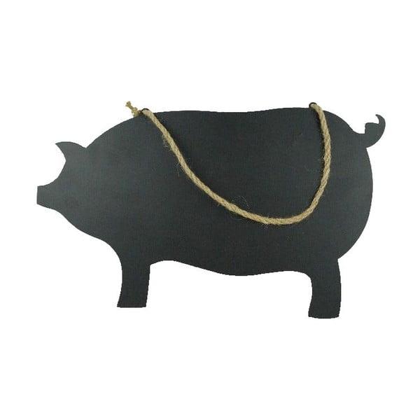Závěsná cedulka na psaní křídou Piggy