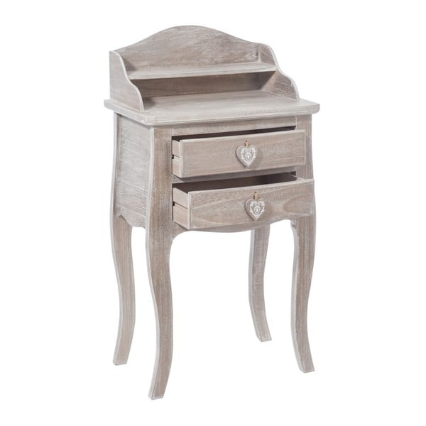 Odkládací stolek Telephone Natural, 48x34x9 cm