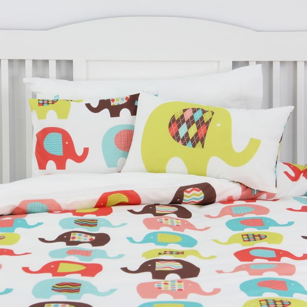 Povlak na polštář Sweet Elephants 50x30 cm