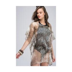 Průhledná dámská tunika z čisté bavlny NW