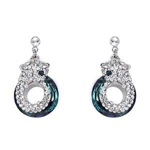 Náušnice s krystaly Swarovski Elements Crystals Panthers