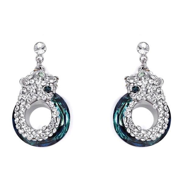 Cercei cu cristale Swarovski Elements Crystals Panthers