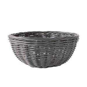 Košík na pečivo, šedý