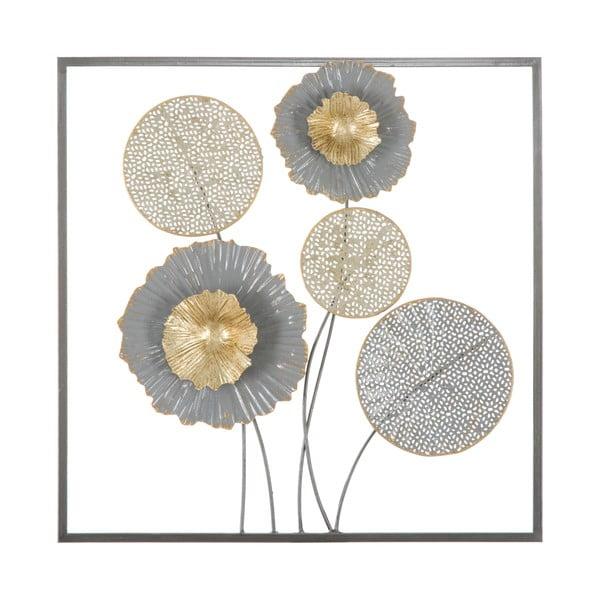 Nástěnná kovová dekorace Mauro Ferretti Squity, 50x50cm