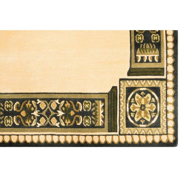 Vlněný koberec Bakero Beige, 140x200 cm