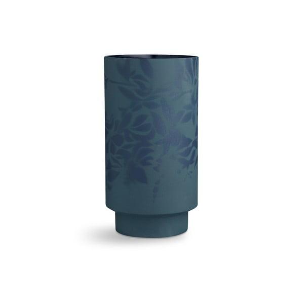 Kabell sötétkék agyagkerámia váza, magasság 26,5 cm - Kähler Design