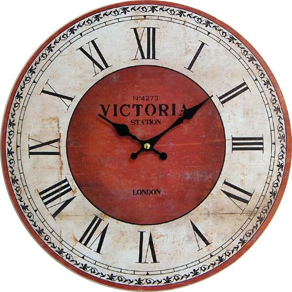 Hodiny Red Victoria, 34 cm