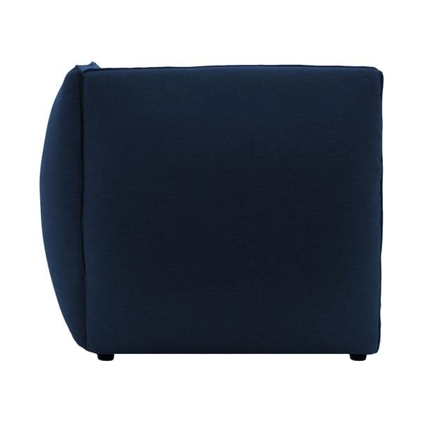 Tmavě modrá dvoumístná pohovka Vivonita Cube