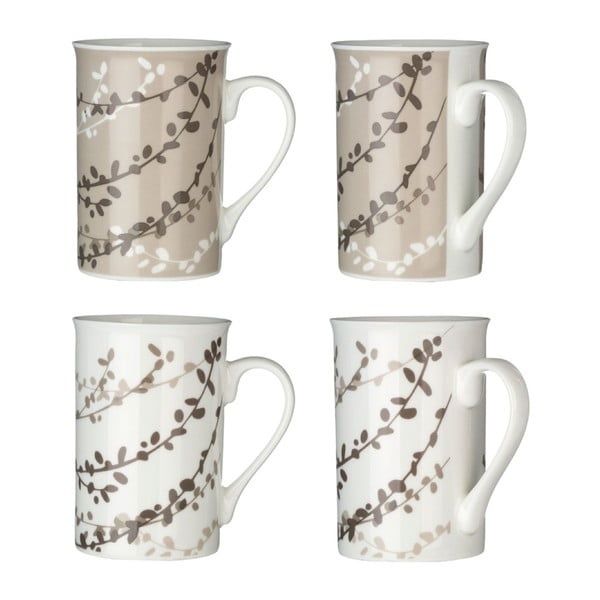 Set 4 căni Premier Housewares Homestead Willow, 270 ml