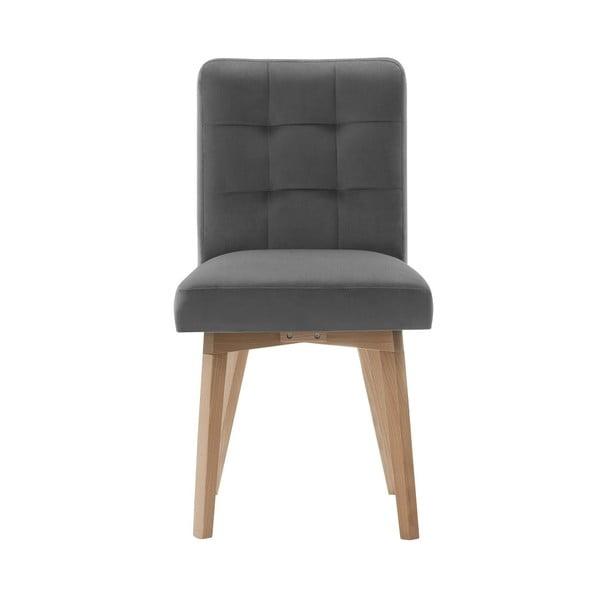 Tmavě šedá jídelní židle My Pop Design Haring