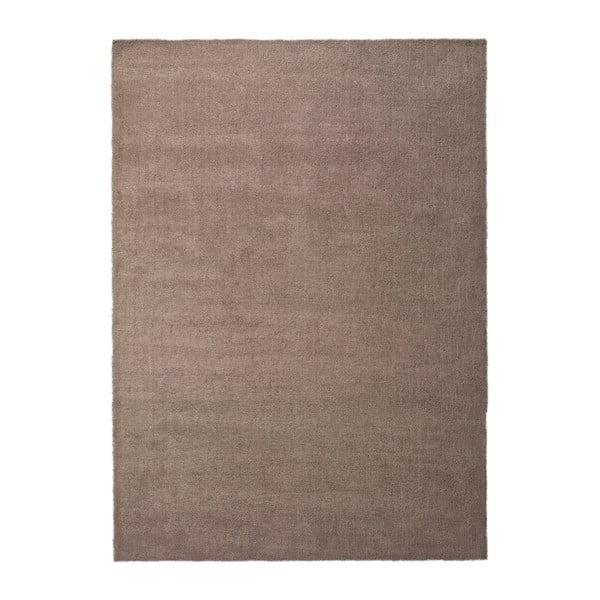 Hnědý koberec Universal Shanghai Liso, 200x290cm