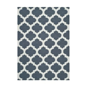 Vlněný koberec Safavieh Dhurrie, 91x152cm