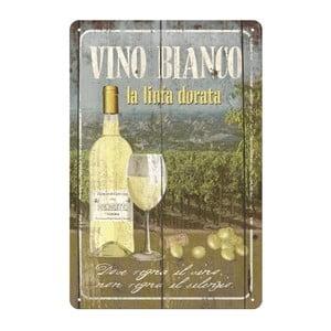 Cedule Vino bianco, 20x30 cm