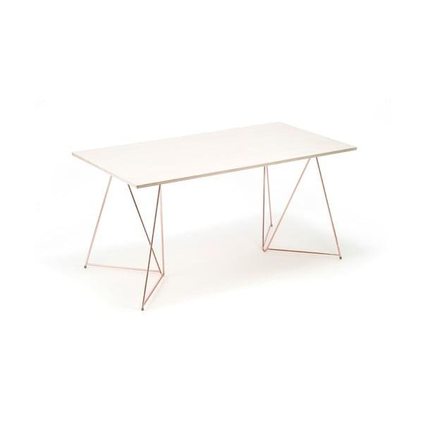Sada 2 měděných podnoží ke stolu Master & Master Diamond, 70x70cm