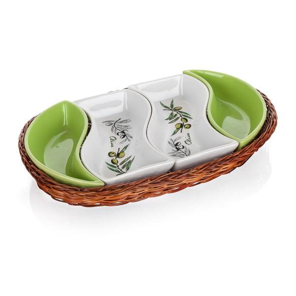Tác v košíku Banquet Olives, 30,5 cm