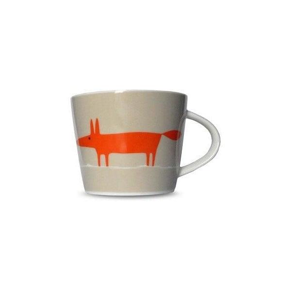 Hrnek MAKE International Mr. Fox Orange/Neutral, 250 ml
