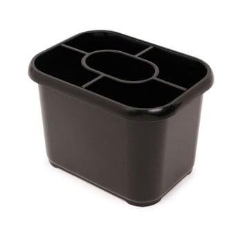 Scurgător vase pentru tacâmuri Addis Classic, negru imagine