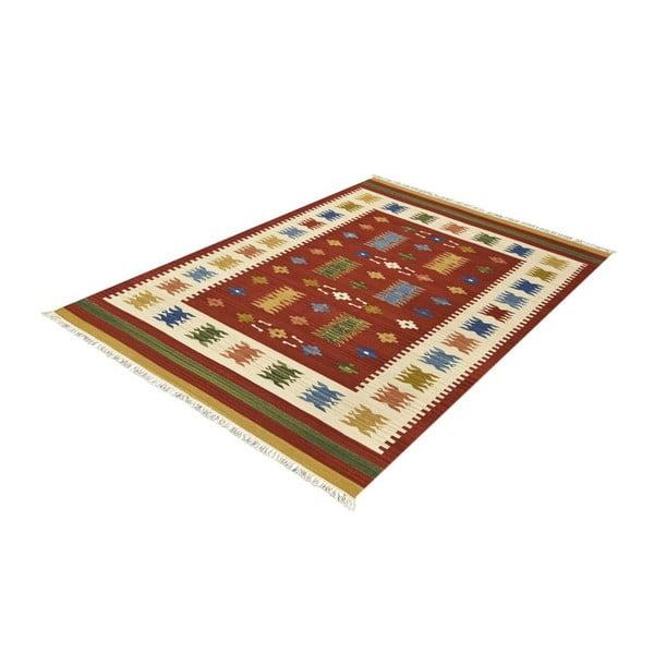 Vlněný koberec Kilim Classic AK01 Mix, 125x185 cm