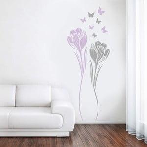 Samolepka Tulipány, 70x50 cm