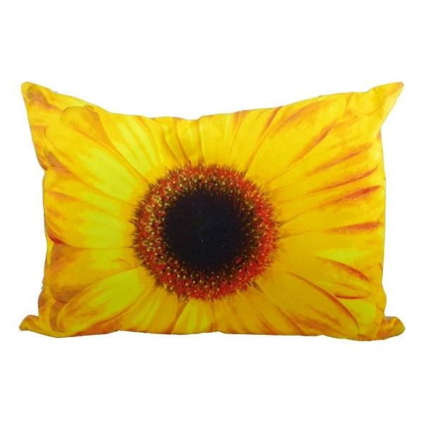 Polštář Flower Yellow 50x35 cm