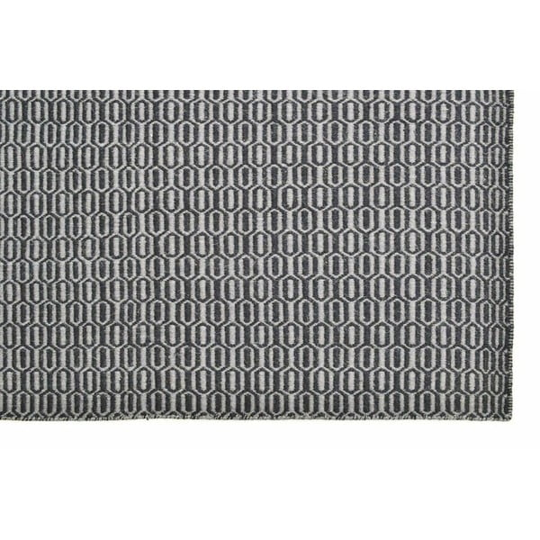 Koberec Flat Honey Comb Grey, 120x180 cm