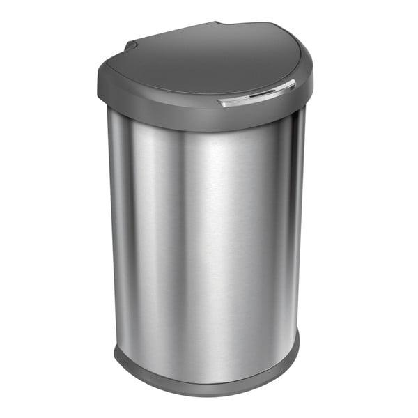 Bezdotykový odpadkový koš simplehuman 45 l, šedý