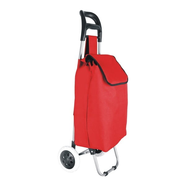Červená taška na kolečkách Hero Chariot, 32 l
