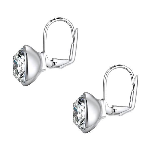 Náušnice se Swarovski Elements Glass Stone Crystal