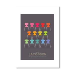 Autorský plakát Colourful Ants