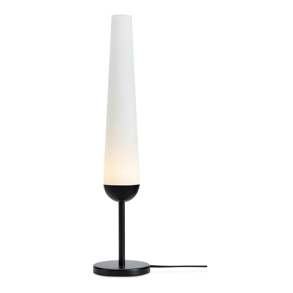 Stolní lampa s podstavcem v černé barvě Markslöjd Bern 1L
