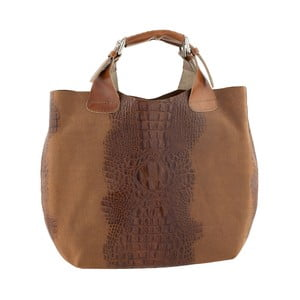 Kožená kabelka Luxury Italia, medová