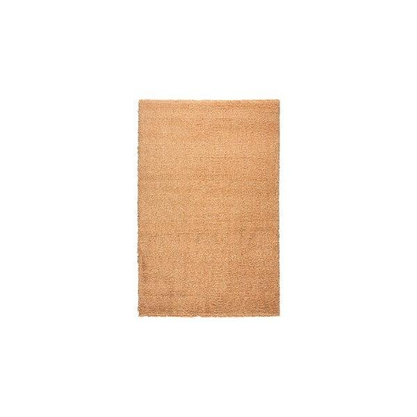 Vlněný koberec Dama no. 611, 60x120 cm, oranžový