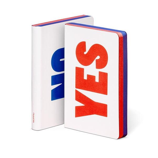 Zápisník Nuuna Yes No, malý