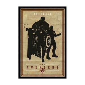 Plakát The Avengers, 35x30 cm