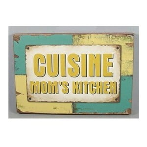 Dřevěná cedule Cuisine 40x28 cm