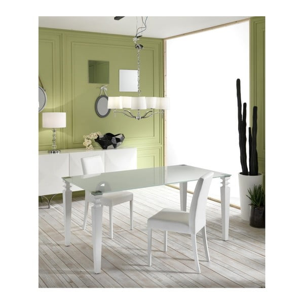 Bílý jídelní stůl Design Twist Naven