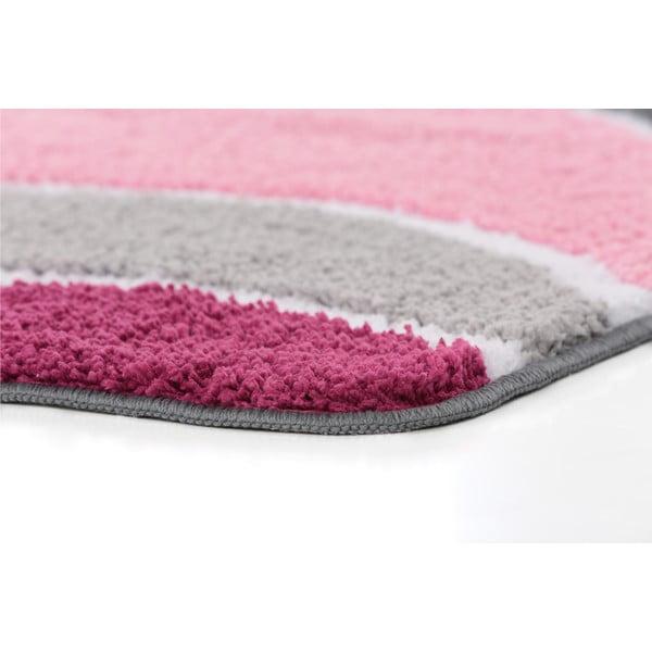 Koupelnová předložka Lift Pink, 65x110 cm