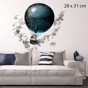 Samolepka Aerostatic Balloon, 28x31 cm