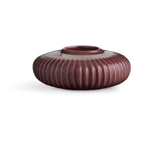 Hammershoi lila porcelán gyertyatartó teamécseshez, ⌀ 13 cm - Kähler Design