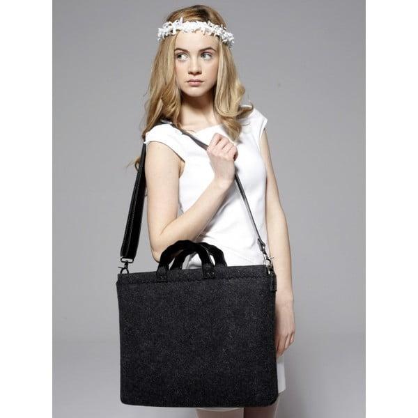 """Plstěná vyšívaná taška na laptop Goddess, 15,6"""""""