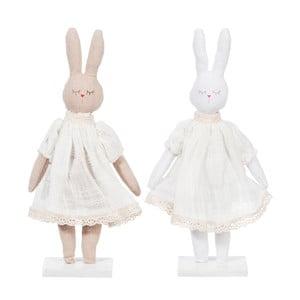 Sada 2 dekorativních králíčků Rabbit