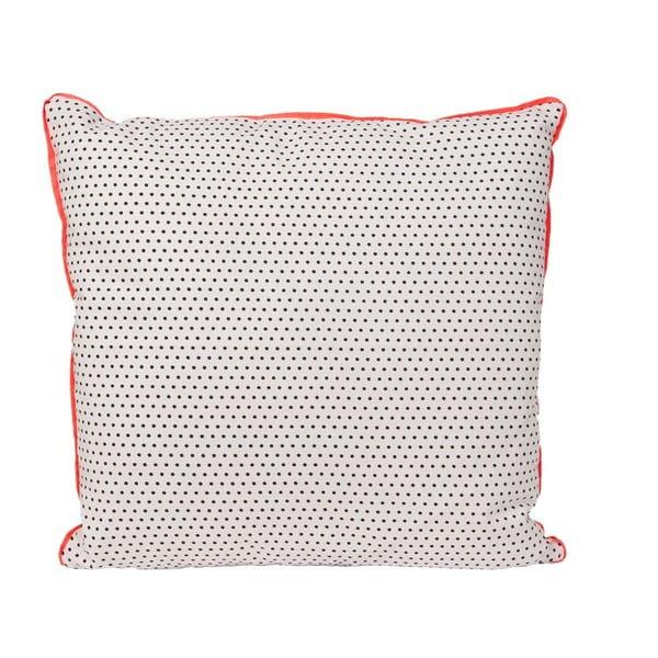 Polštář Dots Square Grey, 45 x 45 cm