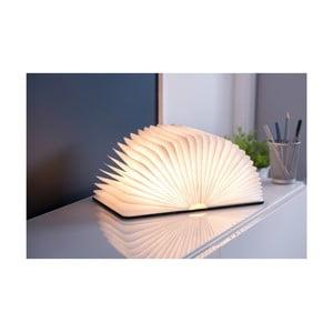 Černá LED stolní lampa ve tvaru knihy Gingko Mini