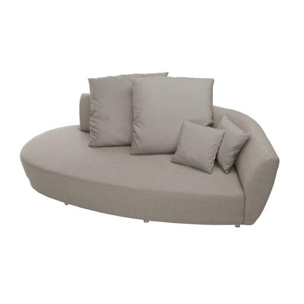 Viotti bézs háromszemélyes kanapé háttámlával a jobb oldalon - Florenzzi