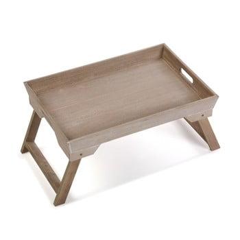 Tavă pliabilă din lemn Versa Boedo Madera, 48x25cm imagine