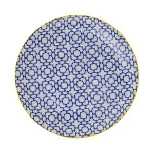 Porcelánový talíř Geometric No4, 16x2,1 cm