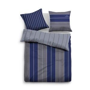 Povlečení Tom Tailor Grey Stripe, 135x200 cm
