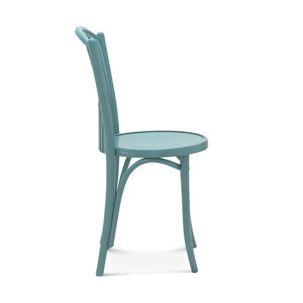 Sada 2 modrých dřevěných židlí Fameg Jorgen